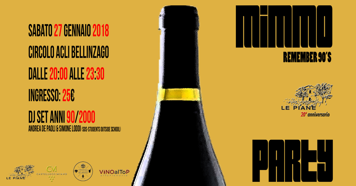 Mimmo Party – Remember 90's